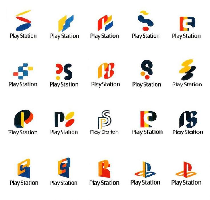 Playstation logo proposals