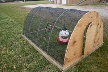 Moveable Hoop House