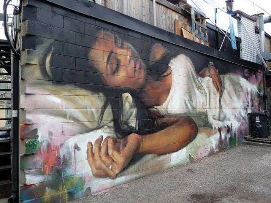 les plus beaux Street Art  - Page 3 Fae55217514c6082cce2bd6325c83d46--d-street-art-street-art-graffiti