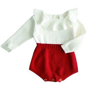 Hersay baby clothes: Newborn Baby Kids Baby Girls Knitted Ruffle Long S...