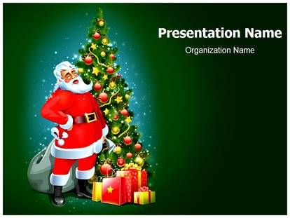 29 best Christmas PowerPoint Template Themes Designs images on - christmas powerpoint template