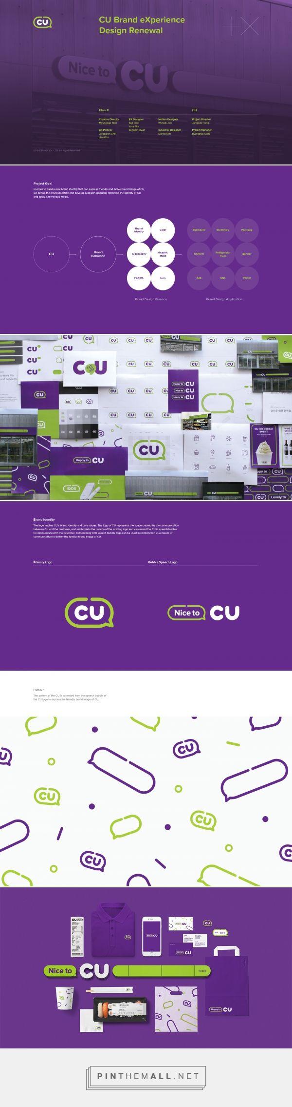 CU Brand eXperience Design Renewal on Behance