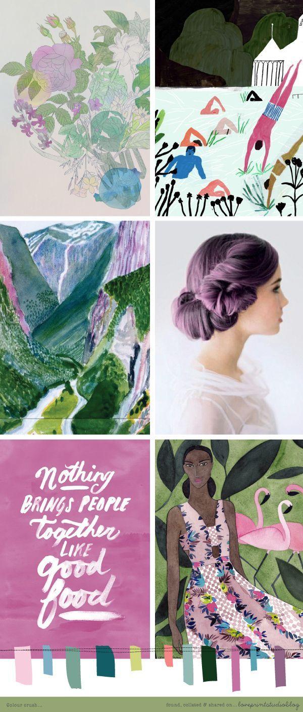 Colour crush... | loveprintstudio | Bloglovin' / moodboard / palettes / color / design / inspiration