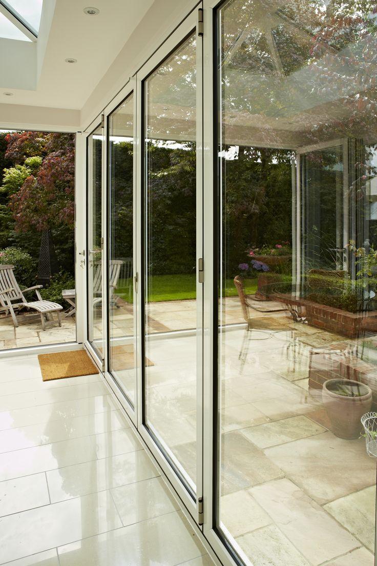 18 best bi folding sliding doors images on pinterest for Bi fold sliding glass doors