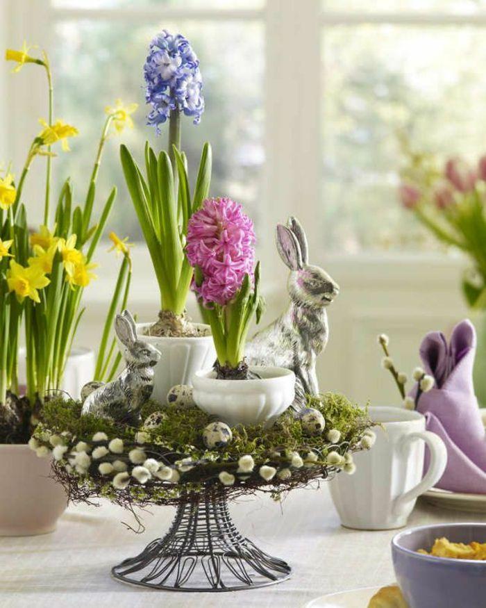 Tischdeko frühlingsblumen  25+ best ideas about Tischdeko ostern on Pinterest