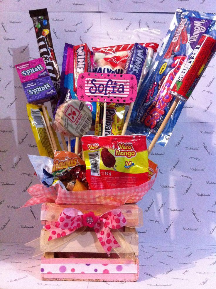 DIY: Arreglo de dulces ideal para el día del niño, centro de mesa u ocasión especial
