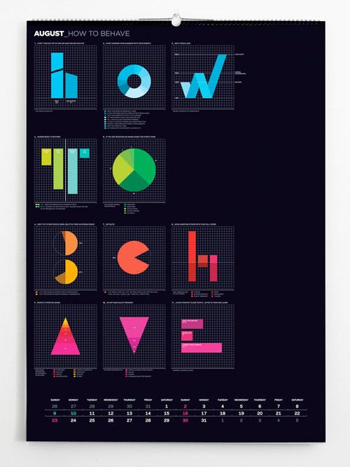 Nice #infographic about how you should behave. #type #typography