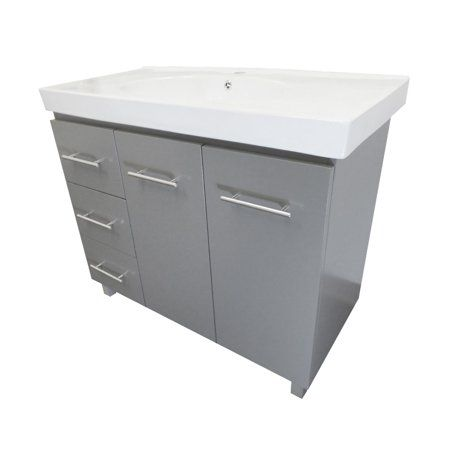 Home Improvement Single Sink Vanity Single Bathroom Vanity