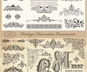27 best free vectors images on pinterest free vector graphics collection of 5 beautiful vector christmas ornaments and retro vintage designs elements snowflakes decorative frames ornate borders floral swirls stopboris Choice Image