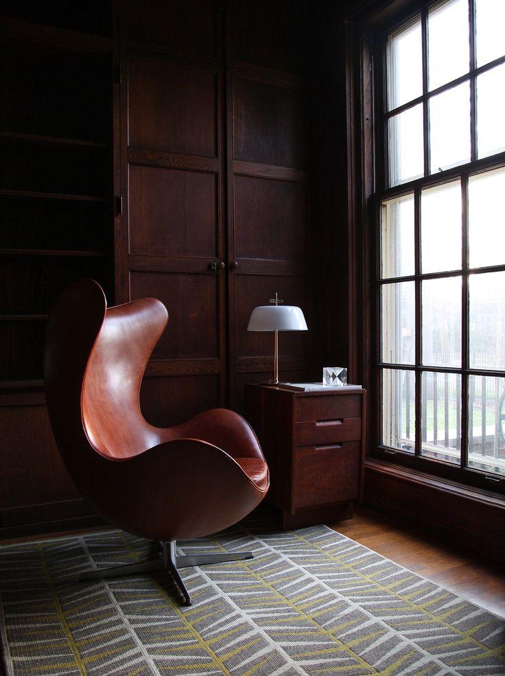 106 best Arne Jacobsen The Egg Chair images on Pinterest | Egg chair ...