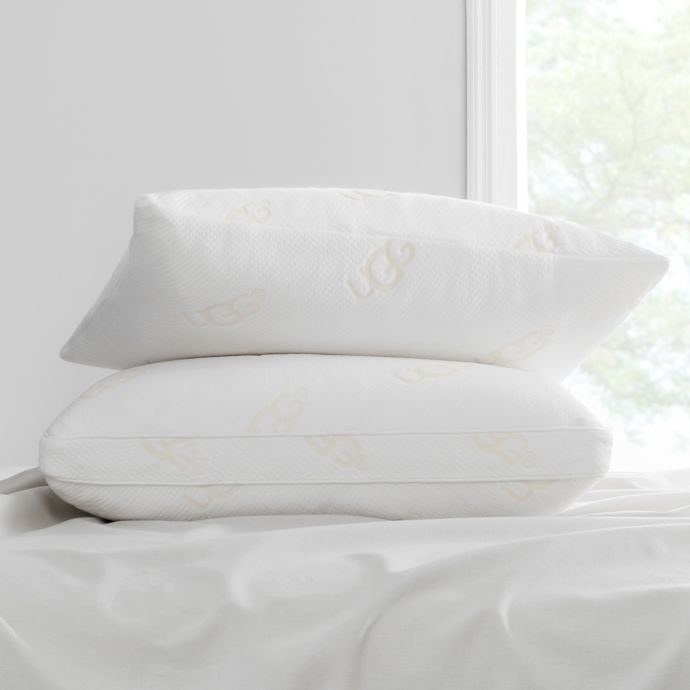 ugg back sleeper bed pillow with