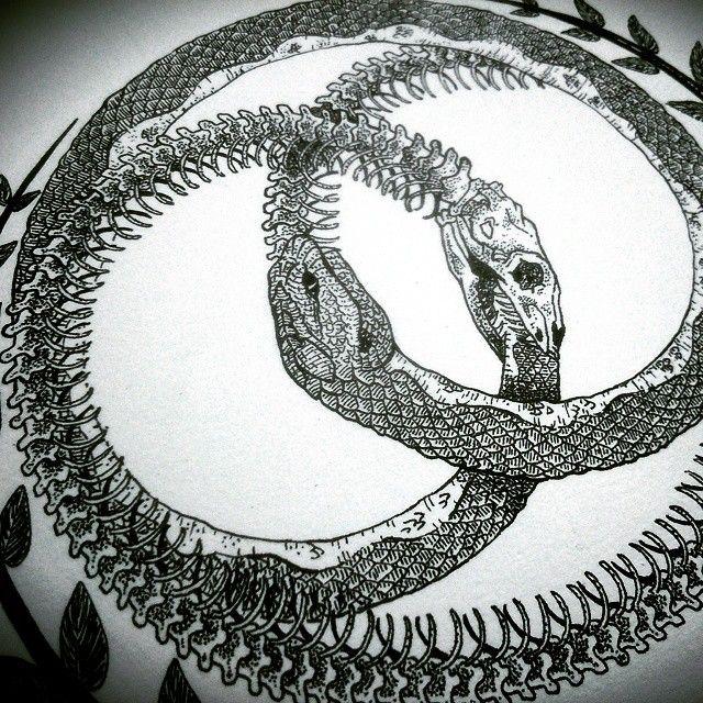 ouroboros: squeleton snakes