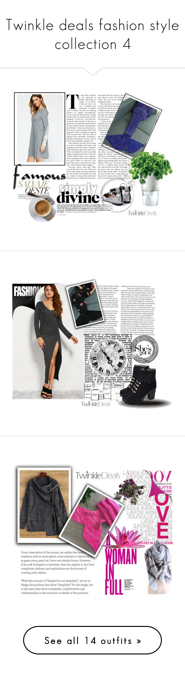 """""""Twinkle deals fashion style collection 4"""" by difen ❤ liked on Polyvore featuring Eva Solo, KAROLINA, Nearly Natural, Ivanka Trump, Guerlain, Magdalena, Tt Collection, WALL, Balmain and Oris"""