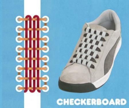 Как завязать кроссовки чтобы не было видно шнурков