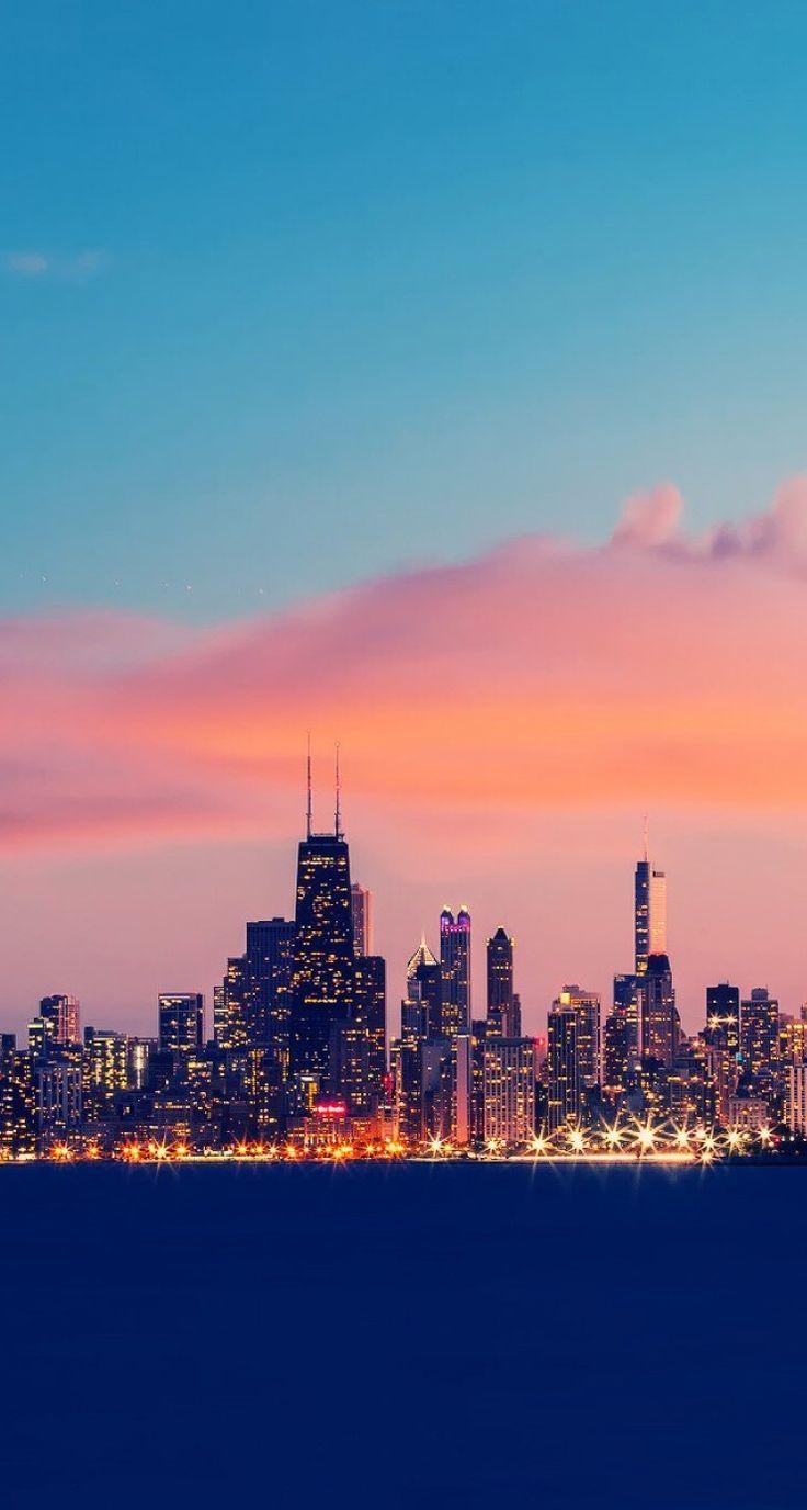 Https I H2 Pinimg Com 564x D2 60 1c D2601ce59b345a5d04719da4efd8557b Jpg Sunset Iphone Wallpaper Chicago Wallpaper City Wallpaper