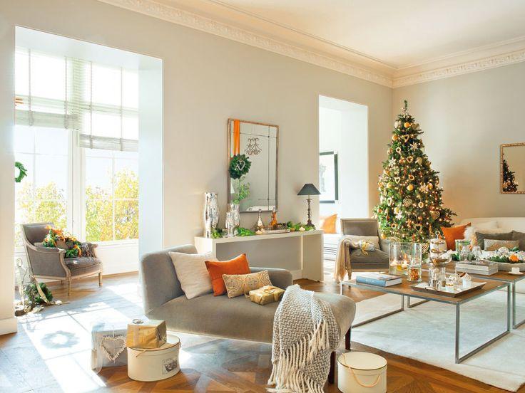 Christmas Modern Decor 718 best christmas trees & vignettes images on pinterest