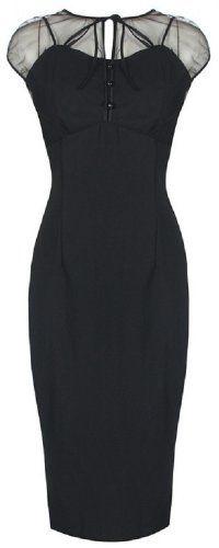 Lindy Bop 'Pandora' Glamourous Vintage 1950's Style Black Pencil Wiggle Dress (M) Lindy Bop,http://www.amazon.com/dp/B009ASDLBS/ref=cm_sw_r_pi_dp_oJfEsb194D2PWYFK