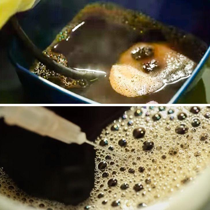 رغوة صابون للإعلان عن قهوة Food Desserts Pudding