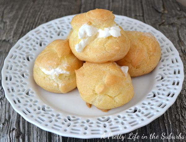 Simple and Easy Cream Puffs - A Pretty Life In The Suburbs