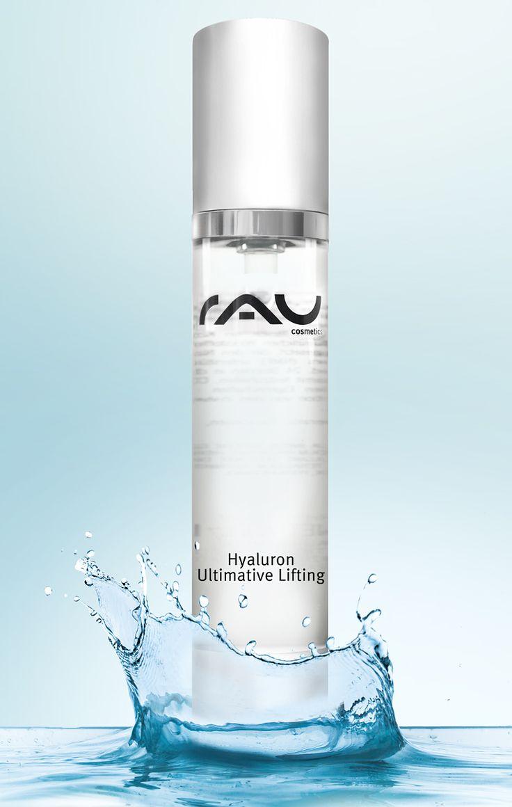 Das RAU Hyaluron Ultimative Lifting ist ein effektives Anti-Aging Hyaluronsäure Gel OHNE PEG s, Farbstoffe, Parfum, Mineralöl und Parabene. Hyaluronic Acid ist neben Wasser die wichtigste Füllsubstanz unseres Bindegewebes, als Inhaltsstoff in diesem Anti Aging Booster kann es feuchtigkeitsbindend und hautstraffend bei Falten und Krähenfüßen wirken. Außerdem ist Hyaluron für die Produktion von Kollagen und Elastin verantwortlich und beeinflusst gleichzeitig positiv die Regenerationsfähigkeit…
