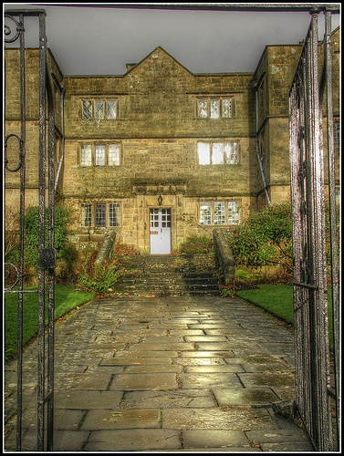 Eyam Hall, Eyam, Derbyshire, UK