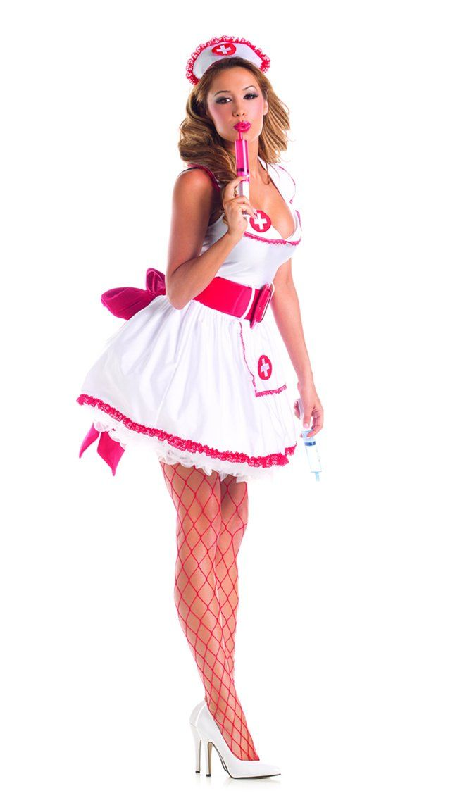 990375875 Party King Womens Naughty Nurse Sexy 4 Piece Costume Set White Red Large    Continue to the product at the image link. (This is an affiliate link and I  ...