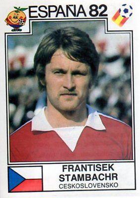 Panini Espana 82 World Cup - Frantisek Stambachr - Czechoslovakia - No 265