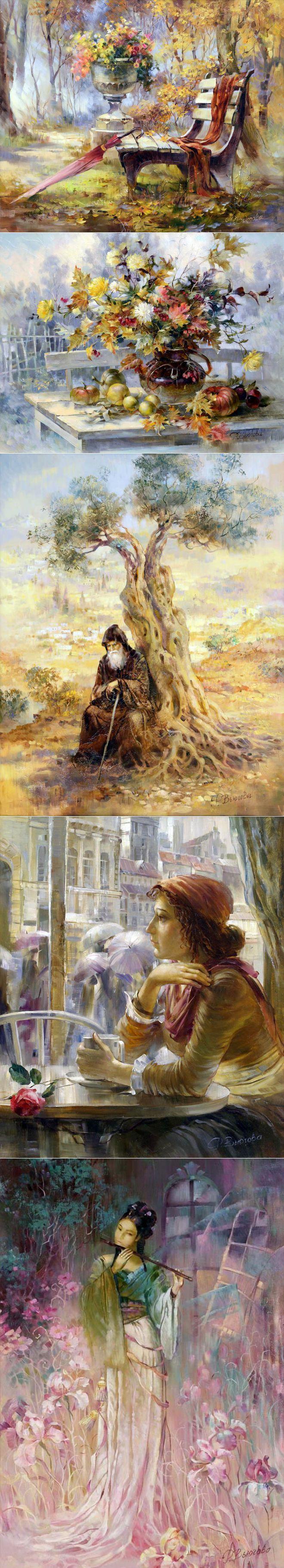 Художница Вьюгова Римма. Часть 1. | искусство | Постила