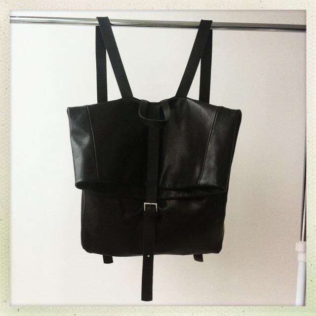 ieva daugirdaite black bag