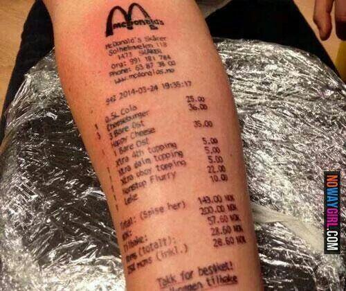 Best worst Tattoos ever! on Pinterest | Really bad tattoos Bad ...