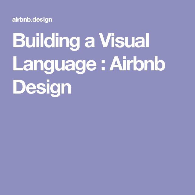 Building a Visual Language  Airbnb Design