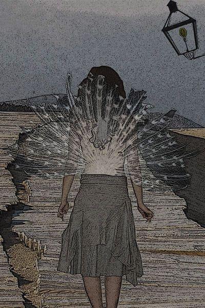 """Alado""(""Winged"") by Angela Terlera©"