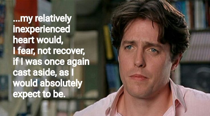 It's never said, but one of the best Notting Hill quotes
