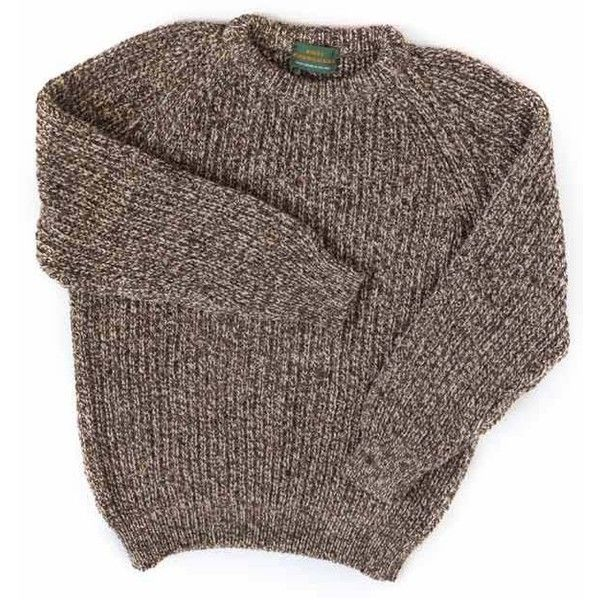 Irish Inspiration for 100% wool crew neck sweaters for men or women (6.680 RUB) ❤ liked on Polyvore featuring mens, men's clothing, men's sweaters, sweaters, tops, shirts and jumpers