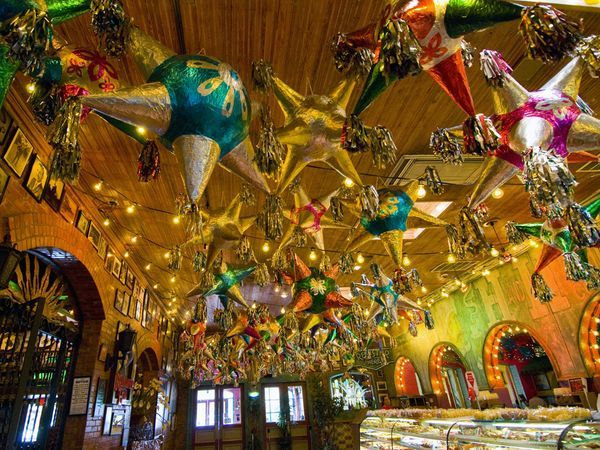 Mi Tierra's Market Square San Antonio! Best Mexican food ever! Open 24 hours a day 7 days a week 365 days a year. They NEVER close!