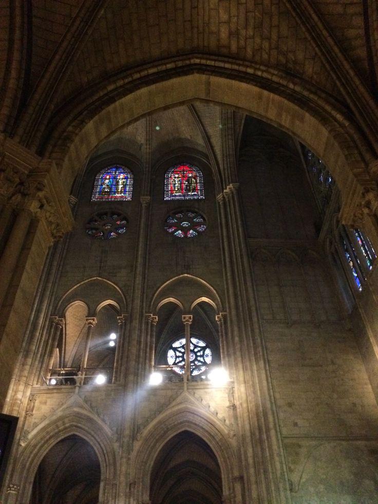 Inside Notre Damme du Paris