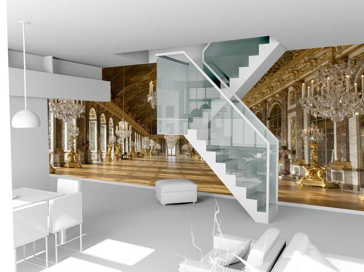 les 81 meilleures images du tableau d co des murs sur pinterest escaliers papiers peints et. Black Bedroom Furniture Sets. Home Design Ideas