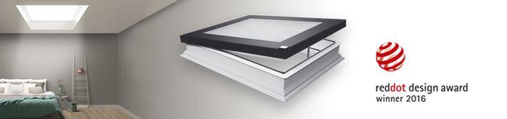 Finestra per tetti piatti di tipo F