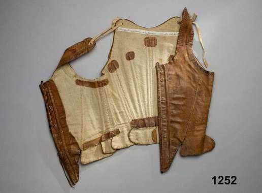 Digitalt Museum - Livstycke skinn ca 1750 sweden