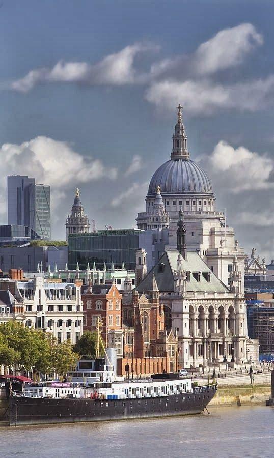 "London From The Thames que hermosa visa para quedarse horas, ""soñando"""