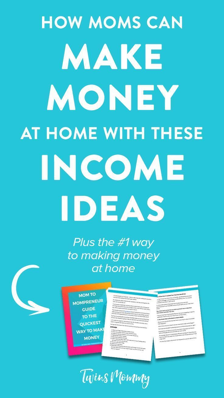 4 Profitable Income Ideas for the Stay-at-Home Mama – Do want to earn some extra income while taking care of you kids at home? Working from home can be rewarding and profitable. Here are four income ideas for moms to making money at home.