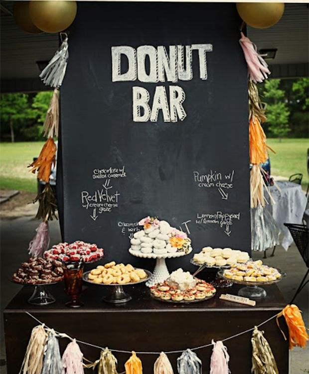 Wedding Desserts Bar Ideas: Trend: Unique Wedding Reception Dessert Ideas