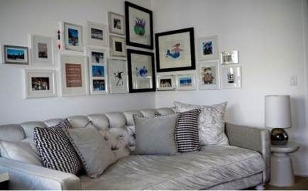 31+ Ideas wall collage above couch sofas – #abovec…