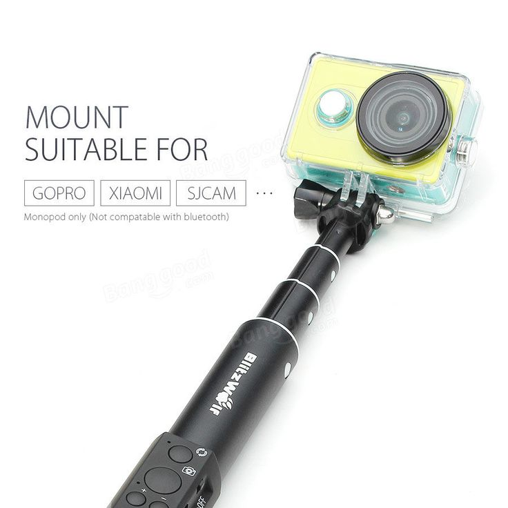 BlitzWolf® BW-BS1 Ultimate 4 Button Bluetooth Extendable Aluminium Selfie Stick Monopod