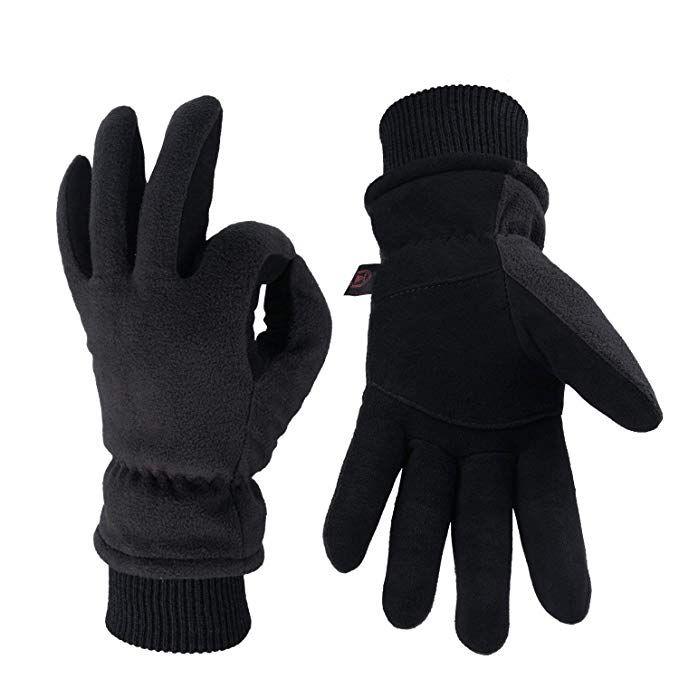 Men Women Winter Golves Waterproof Insulated Gloves Outdoor Sport Thermal Mitten