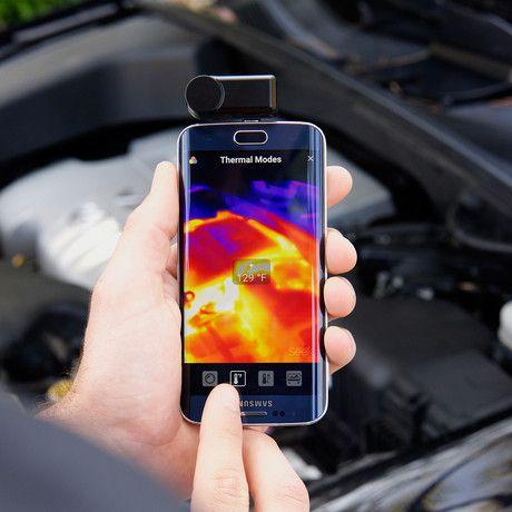 Compact Thermal Imaging Camera (iOS)