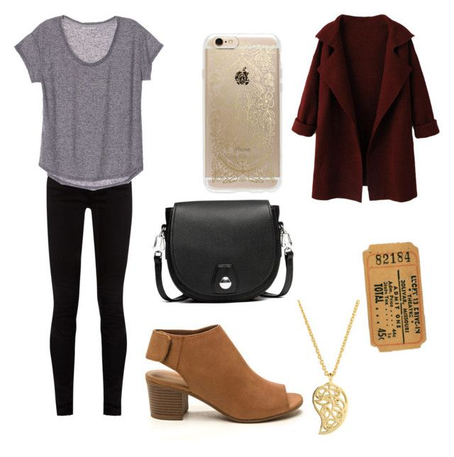 """""""Movie Date Outfit"""" by autumnmonk on Polyvore featuring rag & bone, Rifle Paper Co, WithChic, Gucci and Sonal Bhaskaran"""