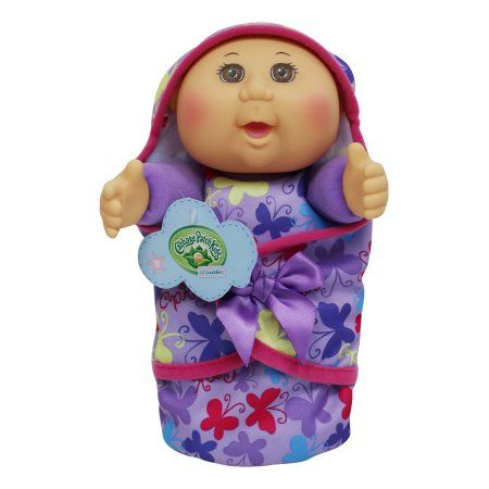 Cabbage Patch Kids 9inch Lil Swaddler Green Eye Caucasian