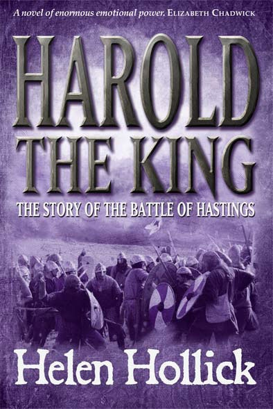 Harold the King book cover for Helen Hollick published by Silverwood Books in 2011 - still one of my favorite covers I've ever created.