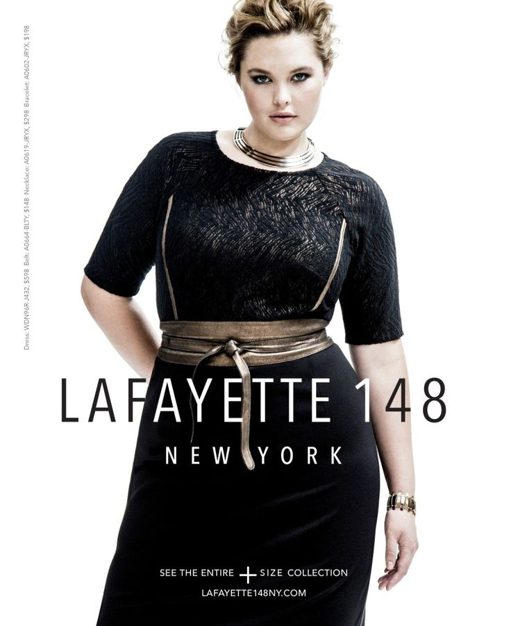 Lafayette 148 NY Plus Size Fall 2014 Look Book #TCFstyle